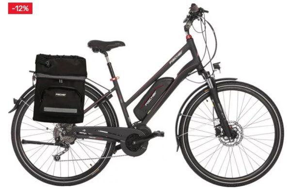 FISCHER Fahrraeder E Bike ETD 1920 10 Gang Shimano Deore Schaltwerk Kettenschaltung Mittelmotor 250 W