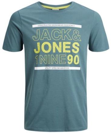 Jack  Jones JCOSANS TEE SS CREW NECK north atlantic