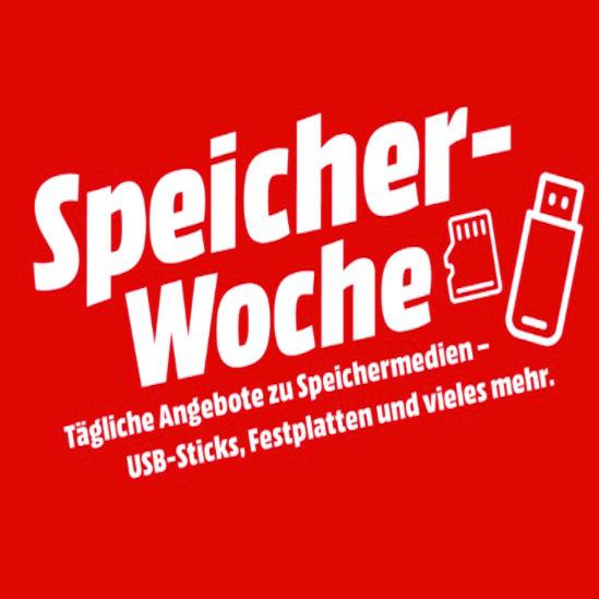 Die MediaMarkt Speicher-Woche 🎉💾 mit HDDs, SSDs usw.