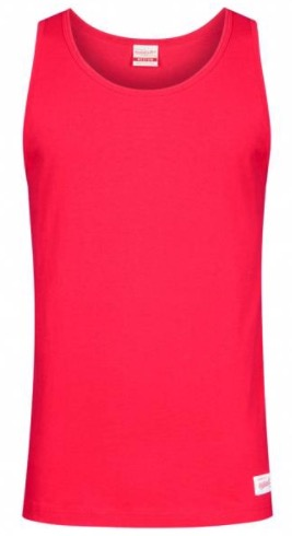 Mitchell  Ness Tank Herren Tank Top Shirt TANKTEE SCA RED