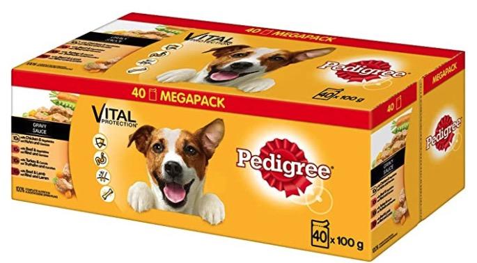 Pedigree Adult Hundenassfutter fuer ausgewachsene Hunde im Portionsbeutel  verschiedene Sorten