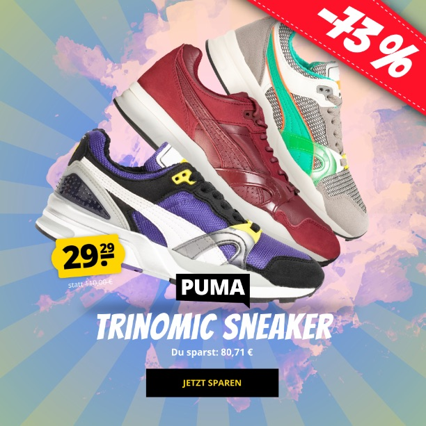 SportSpar Sale Puma Trinomic Aufmacher