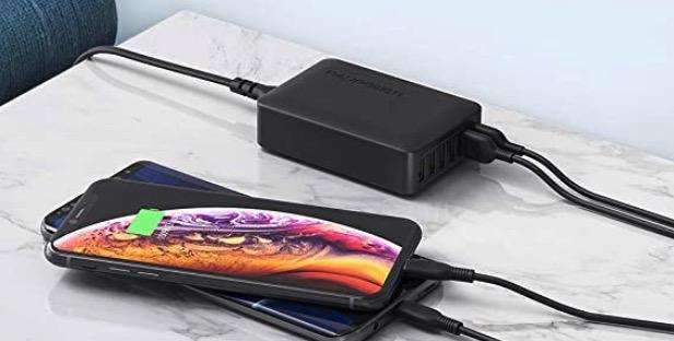 RAVPower Quick Charge 3.0 USB Ladegeraet Schnellladegeraet