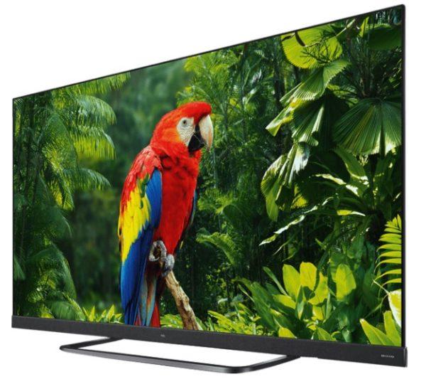 TCL 55EC780 LED TV Flat 55 Zoll  139 cm UHD 4K SMART TV Android TV 9.0
