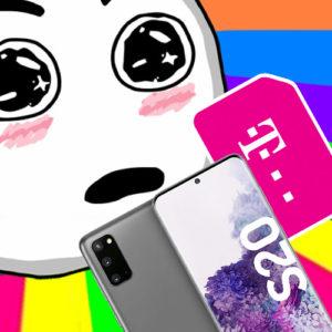 Knaller! 💥 Galaxy S20 + 10GB LTE Allnet Telekom / Vodafone (eff. 2,78€ mtl.)
