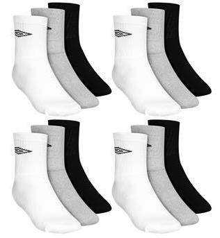 12er Pack Umbro Crew Sport Socken
