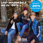 Last Season Sale 👕 + 20% Extra-Gutschein, z.B. Vans, New Balance, O'Neill, Adidas usw.