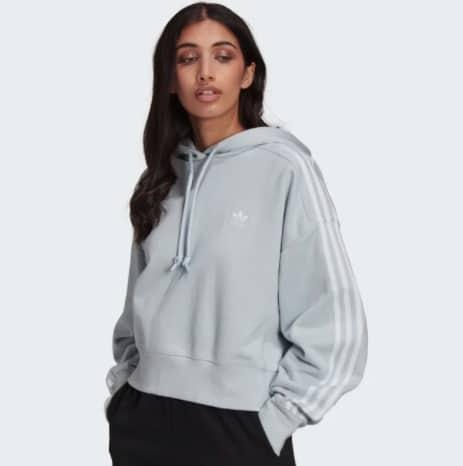 Adidas Adicolor Classics Crop Damen Hoodie