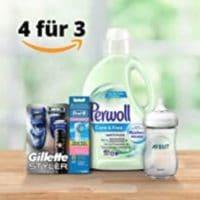 Amazon Drogerie-Artikel 4-für-3
