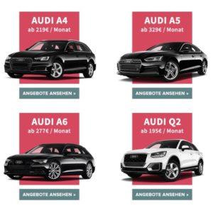 ⭕️⭕️⭕️⭕️ Audi Gebrauchtwagen Leasing ab 158€, z.B. Audi A3 Limousine (Sport)