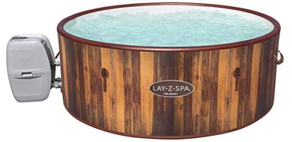 Bestway Lay Z SPA Whirlpools holzoptik braun