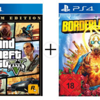 Borderlands 3  Grand Theft Auto V Premium Ed. PS4 1
