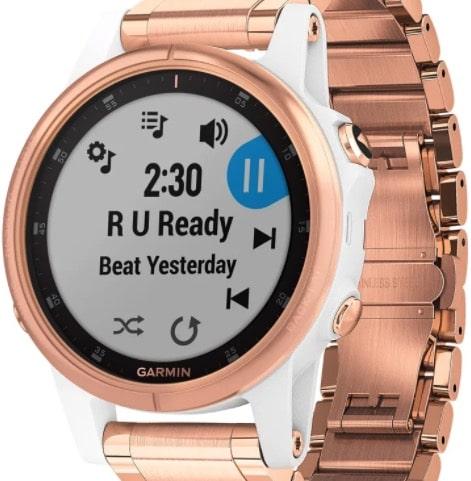 Garmin Activity-Tracker fenix 5S Plus in Roségold