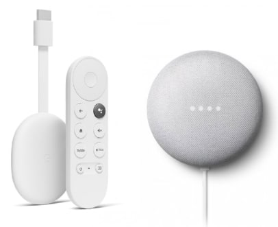 Google Nest Mini  Google Chromecast mit Google TV kaufen  tink 2021 09 28