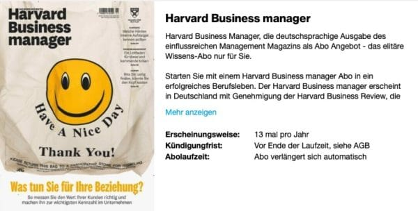 Harvard Businuess Manager