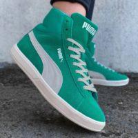 PUMA Lite Mid Suede Sneaker