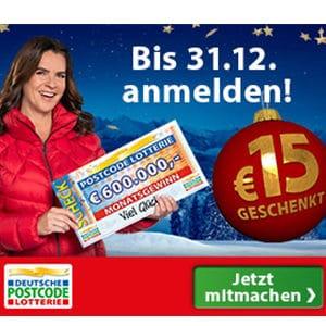🎉 Wieder da! Postcode Lotterie: 15€ geschenkt für ein Monatslos für nur 12,50€