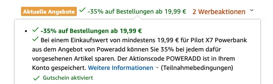 Poweradd Powerbank