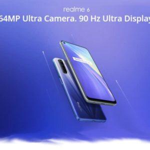 Realme 6 Smartphone mit 90Hz Display  Quad Cam