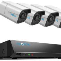 [4K Ultra HD Videoüberwachung]: Reolink PoE Überwachungssystem für 4K Ultra HD Videoüberwachung mit 8MP(3840 x 2160) Auflösung, indem Sie fast viermal so gute Bildqualität wie bei 1080p erhalten können. Sogar wenn Sie die Bilder digital vergrößern, sind feinste Details stets deutlich erkennbar. [Plug und Play PoE Kamera]: Schließen Sie einfach die Kamera am Reolink PoE-fähigen NVR und können Sie schon über den HDMI-Monitor miterleben, wie dieses Überwachungskamera Set mit problemlos seinen Betrieb aufnimmt. Wirklich freundlich für DIY-Enthusiasten und Anfänger. Die Kamera funktioniert mit CAT5 oder CAT6 Netzwerkkabeln von bis zu 100 Metern. [Zuverlässige 24x7 Aufnahme]: Sie können die 24x7 Aufnahme, zeitgesteuerte Aufnahme oder Bewegungserkennung auf vorinstallierte 2-TB Festplatte od. FTP-Server speichern. Ohne das Gehäuse des NVR zu öffnen, können Sie über seinen e-SATA-Port zusätzlich eine externe 4TB-Festplatte anschließen. [Fernzugriff und Wiedergabe Überall zur Jederzeit] - Live-Ansicht und Wiedergabe auf Reolink App, Client od. Web Browser überall und zu jederzeit, wo ein WLAN od. ein Mobilfunknetz (3G, 4G, LTE) vorhanden ist. Die Reolink App reicht für eine simultane Verwaltung von unbegrenzte Anzahl Kameras aus. Was erhalten Sie: Reolink Überwachungssystem und professionelle Kundenberatung(24 Stunden 7 Tage Support, auf Englisch und Deutsch). Wir werden uns umgehend um Probleme kümmern und Sie eine Lösung für Sie bearbeiten.