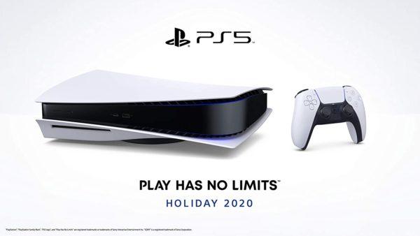 Sony PS5 4K Blu Ray liegend