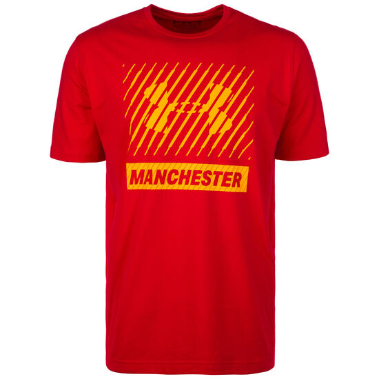 UNDER ARMOUR HEATGEAR MANCHESTER BIG LOGO TRAININGSSHIRT HERREN
