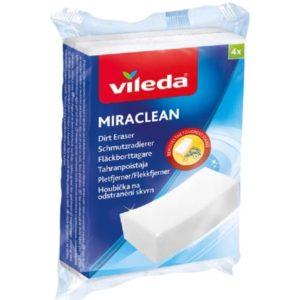 Vileda Miraclean Schmutzradierer   optimal zum Loesen von Schmutz auf harten Oberflaechen