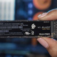 Western Digital Black SN750  interne 500GB SSD M.2 NVMe