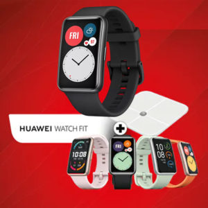 ⌚️ Huawei Watch Fit / GT 2 Pro / FreeBuds Pro + GRATIS Fitnesswaage