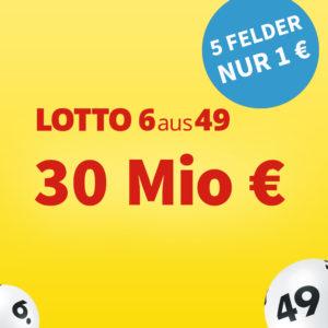 30 Mio. € Jackpot 💵🍀 Gratis-Tipp // 5 Felder 1€ für Neukunden
