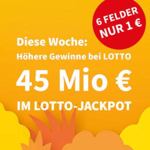 💵🍀 45 Mio. € Jackpot: 20 Felder für 16€ für BK // Gratis-Tipp für NK & mehr