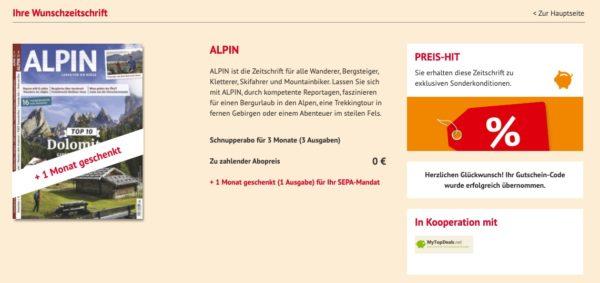 Alpin Magazin gratis