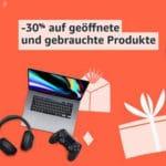 Letzte Chance! 😁 30% Extra-Rabatt auf viele Warehouse-Deals bei Amazon