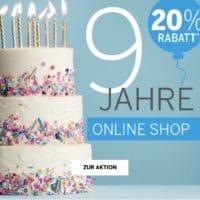 Schiesser 9 Jahre Onlineshop