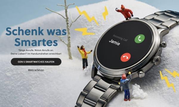 Fossil Smartwatch Banner