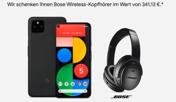 Google Pixel 5 Bose