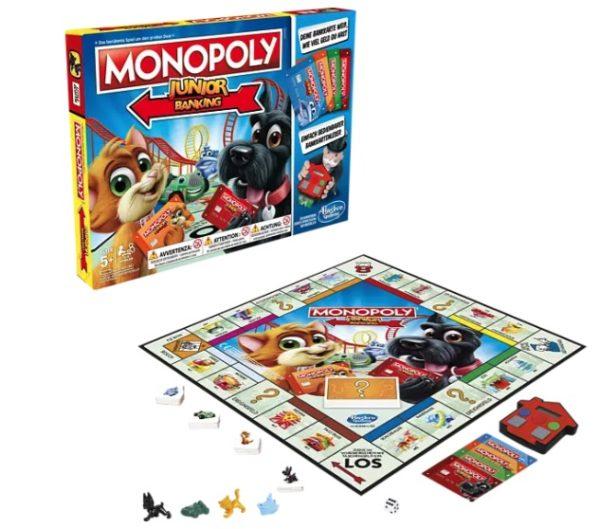 HASBRO GAMING Monopoly Junior Banking Gesellschaftsspiel Mehrfarbig