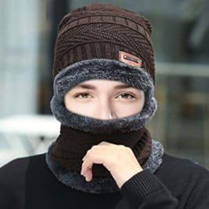 Hingpy Mund-Nasen-Wintermütze