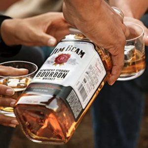 Jim Beam White Kentucky Straight Bourbon Whiskey