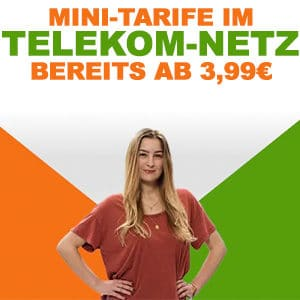 Klarmobil Mini Tarife Telekom Netz Titelbild