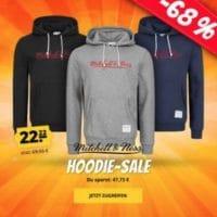 Mitchell  Ness Logo Essentials Herren Hoodie