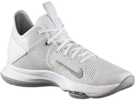 Nike Basketballschuhe Le Bron Witness IV in Weiß