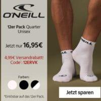 O'Neill Quarter Socken 12er Pack