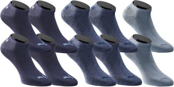 PUMA Sneaker Socken Sportsocken 10 Paar Pack Unisex   Special Edition