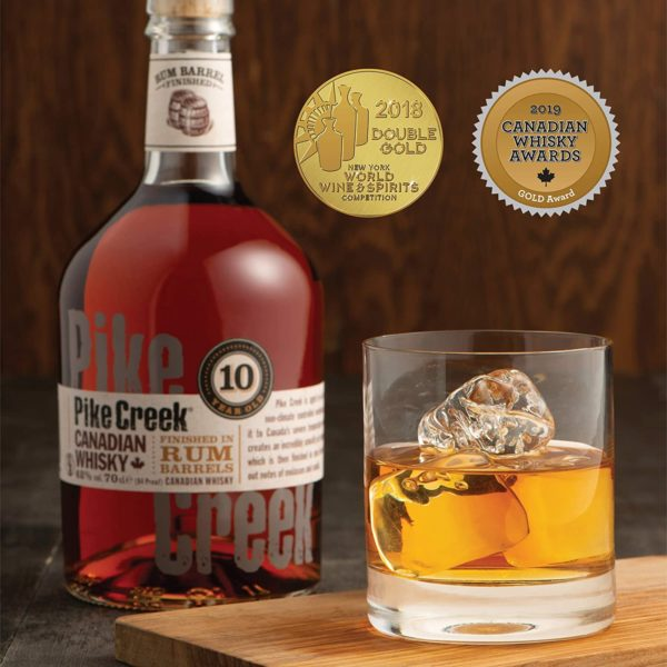 Pike Creek 10 Jahre Canadian Whisky 1 x 07 l