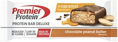 Premier Protein Bar Deluxe Chocolate Peanut Butter