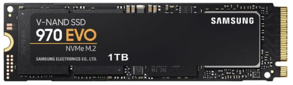 SAMSUNG NVMe SSD 970 Evo