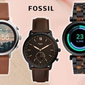 ⌚️ Fossil Flash-SALE 😍 Bis zu 70% Rabatt auf Smartwatches, Uhren & Taschen