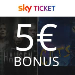 Halloween Special 🎃 5€ BestChoice-Premium Gutschein für Sky Ticket Pakete ab € 9,99 mtl.