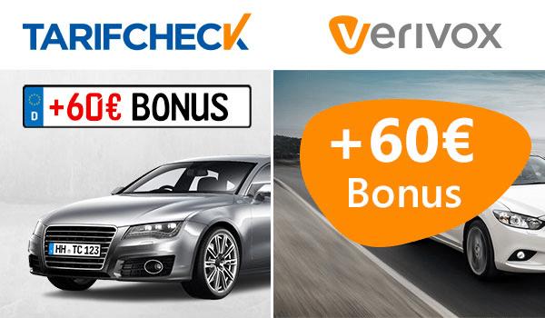 verivox tarifcheck check24 bonus deal kfz versicherung